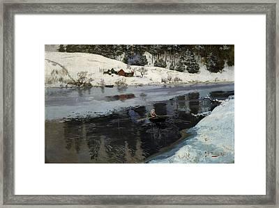 Vinter Ved Simoa Framed Print by Celestial Images