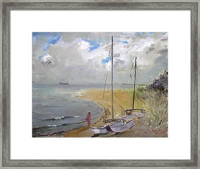 Viola In Virginia Beach Framed Print by Ylli Haruni