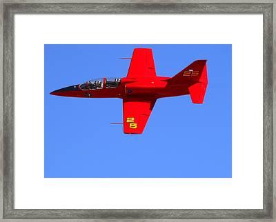 Violated At The Reno Air Races. N757sf Framed Print by John King