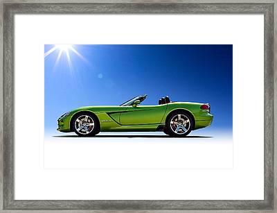 Viper Roadster Framed Print by Douglas Pittman
