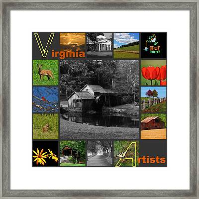 Virginia Artist  Framed Print by Eric Liller