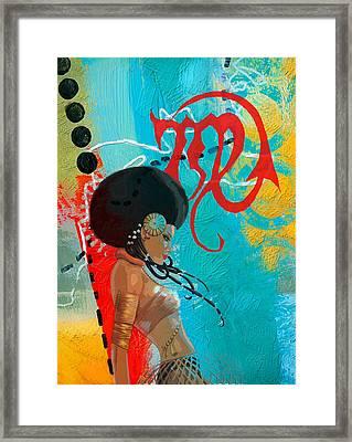 Virgo Framed Print by Corporate Art Task Force