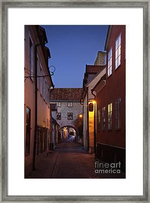 Visby Evening  Framed Print by Ladi  Kirn