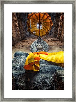 Vishnu  Framed Print by Stelios Kleanthous