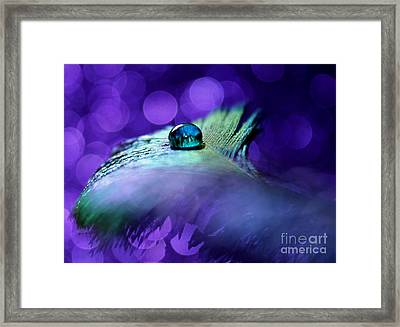 Visionary Of Peace Framed Print by Krissy Katsimbras