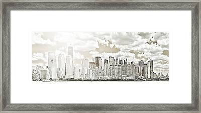 Visions In My Mind Framed Print by Janie Johnson