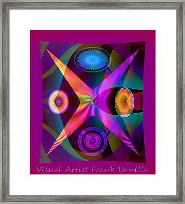 Visions Framed Print by Visual Artist  Frank Bonilla