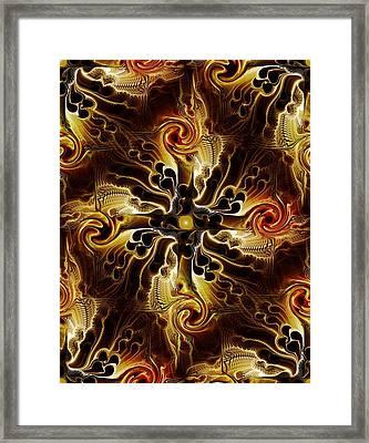 Vital Cross Framed Print by Anastasiya Malakhova