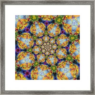 Vitality Framed Print by Denise Nickey