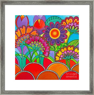 Viva La Spring Framed Print by Carla Bank