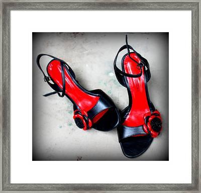 Viva La Tango Framed Print by Gretta Fiora