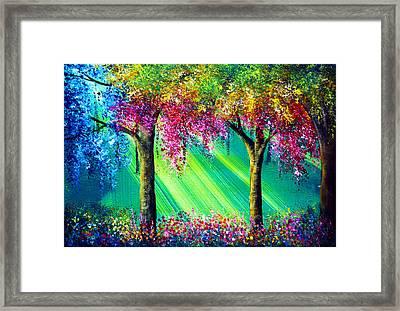 Vivacious Framed Print by Ann Marie Bone