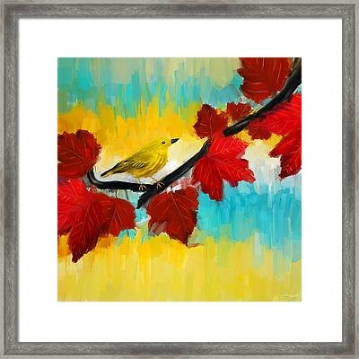 Vividness Framed Print by Lourry Legarde