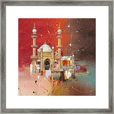 Vizhinjam Mosque Framed Print by Corporate Art Task Force