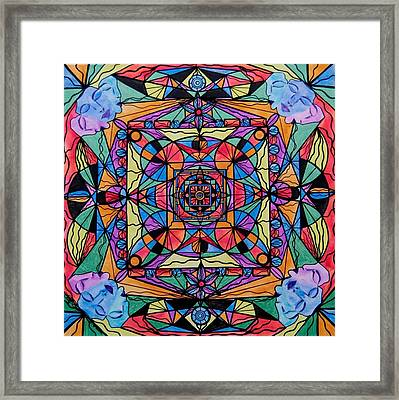 Voice Dialogue The One Framed Print by Teal Eye  Print Store