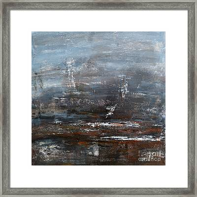 Voice Of The Sea  Framed Print by Ismeta Gruenwald