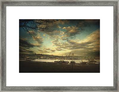 Void 17.03 Framed Print by Taylan Soyturk
