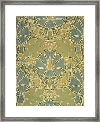 Voisey The Saladin Framed Print by William Morris