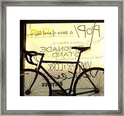 Volker Bicycles Framed Print by Elizabeth Sullivan