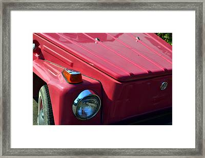Volkswagen Thing Framed Print by Michelle Calkins