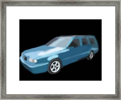 Volvo T5 Estate Framed Print by Tony Stark