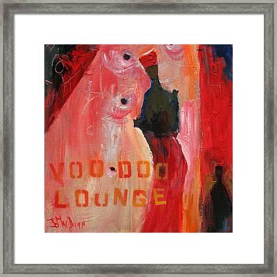 Voo Doo Lounge Framed Print by John Dunn