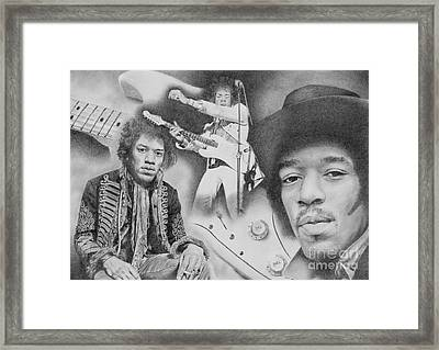 Voodoo Chile Framed Print by Stuart Attwell