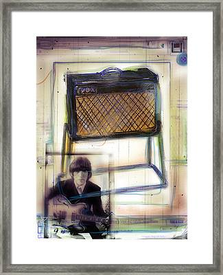 Vox And George Framed Print by Russell Pierce