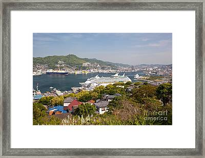 Voyager Of The Seas Framed Print by Aiolos Greek Collections