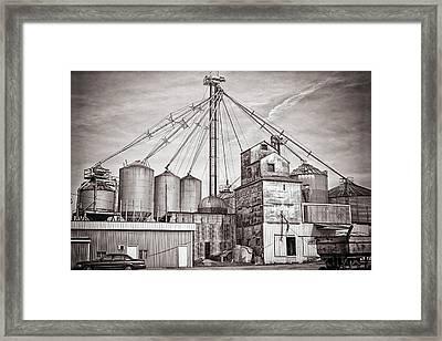 Voyces Mill Framed Print by Sennie Pierson