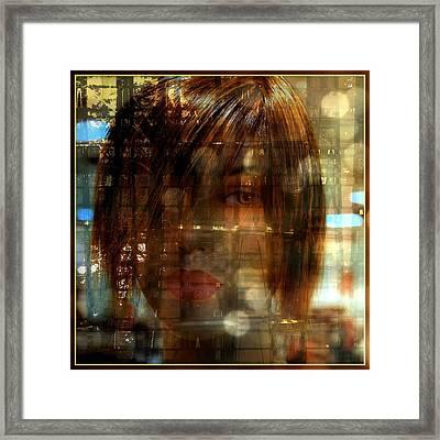 Voyeur Of Life Framed Print by Irma BACKELANT GALLERIES