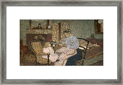 Vuillard Soup, 1900 Framed Print by Granger