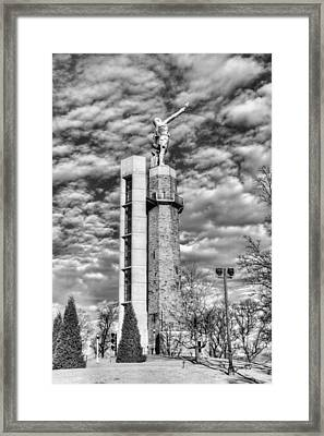 Vulcan Birmingham  Framed Print by JC Findley