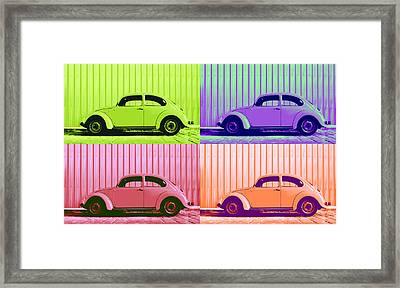 Vw Pop Spring Framed Print by Laura Fasulo