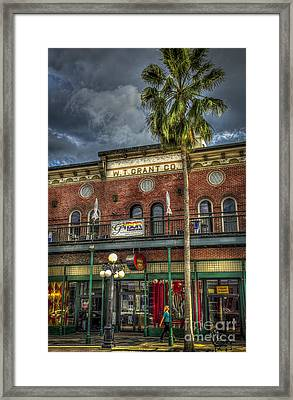 W. T. Grant Co. Framed Print by Marvin Spates