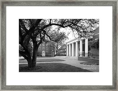 Wabash College Sparks Center Framed Print by University Icons
