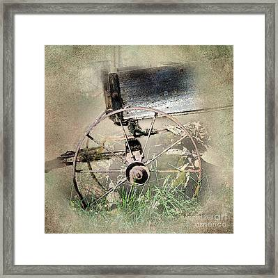 Wagon West Framed Print by Betty LaRue