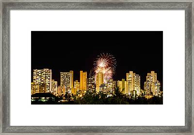 Waikiki Party 6 Framed Print by Jason Chu