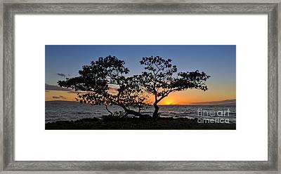 Wailea Point Framed Print by Sean  James G