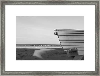 Waiting Framed Print by Andrea Mazzocchetti