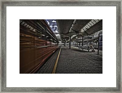 Waiting Framed Print by Erik Brede