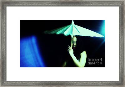 Waiting For A Chance Framed Print by Jessica Shelton