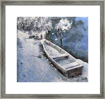 Waiting For A Spring Framed Print by Dragica  Micki Fortuna