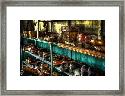 Waiting For Eternity Framed Print by David Morefield