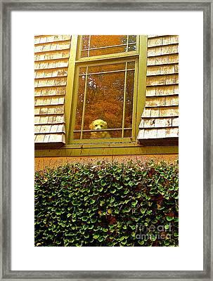 Waiting For Jesse Framed Print by Delona Seserman