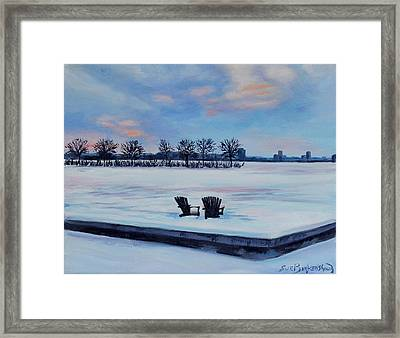Waiting For Spring Framed Print by Sue Birkenshaw