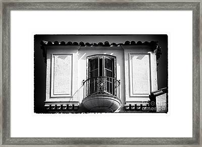 Waiting For The Starlet Framed Print by John Rizzuto