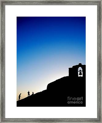 Waiting For The Sun II Framed Print by Hannes Cmarits