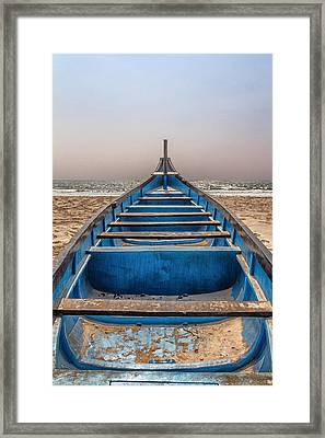 Waiting For The Sun Framed Print by Stelios Kleanthous