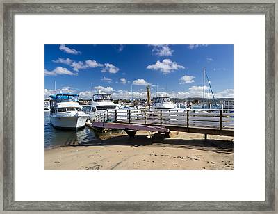 Waiting For The Weekend Framed Print by Heidi Smith